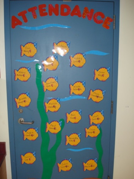 Fish Attendance Board
