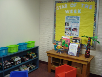 Reading Area #3 and Star of the Week